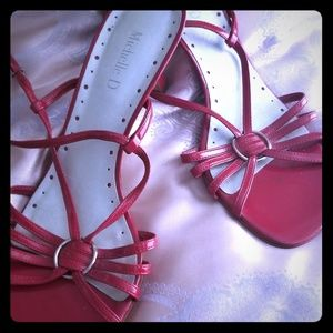 Michelle D   Red Kitten Heels